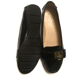 Cole Haan Shoes - Cole Haan Air Tali Black Patent Leather Loafer